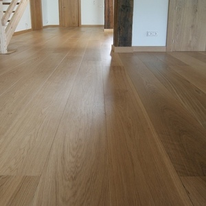 2-layer floorboard Oak Natur 180mm unfinished