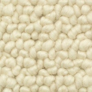 Woolen carpet 38 white