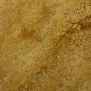 Natural Stone Travertine Golden White filled and polished 30,5x30,5x1cm