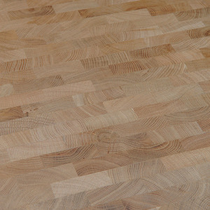 End Grain Parquet Oak Natur Eng. pattern