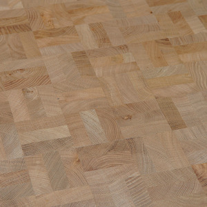 End Grain Parquet Oak Nature squares