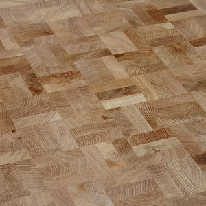 End Grain Parquet Oak Markant squares