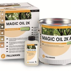 Hard wax oil for wooden floors Pallmann Magic Oil 2K