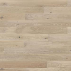 Parquet Tarkett, Shade, Oak Satin White Plank, 1-strip, 2 sides bevelled, Proteco Hardwax Oil