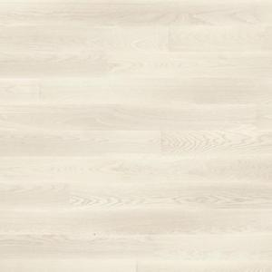 Parquet Tarkett, Shade, Ash Pearl White Plank, 1-strip, 2 sides bevelled, brushed, Proteco lacquer
