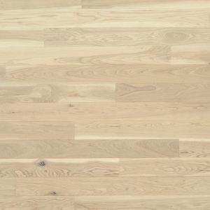 Parquet Tarkett, Shade, Oak Antique White Plank XT, 1-strip, 2 sides bevelled, brushed, stained, Proteco Natura mat lacquer