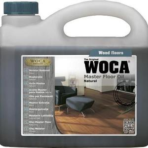 Põrandaõli WOCA Master Floor Oil Natural 1L