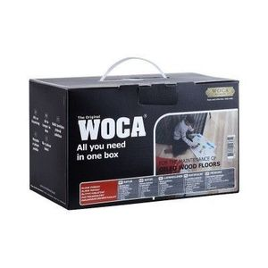 WOCA Maintenance Box Natural w/Maintenance Oil FI
