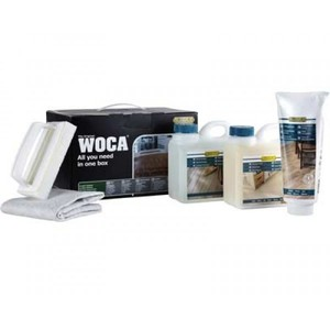 WOCA Maintenance Box Natural w/Paste FI