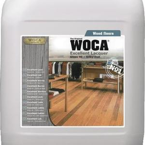 WOCA Excellent Wood Floor Lacquer - Gloss 40 10L