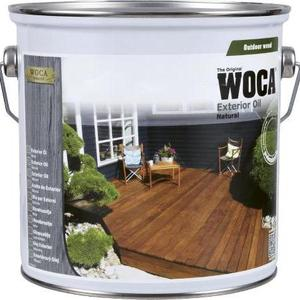Õli välitingimustesse WOCA Exterior Oil Anthracite grey (hall) 2,5L