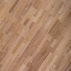 Parquet Ash 3-strip lacquered