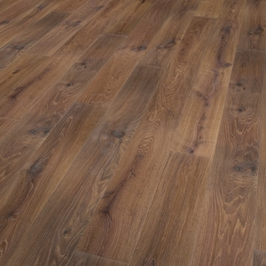 Parquet oak Mocca, Alpin, bevelled (4V), scraped, thermal treated, oiled finish