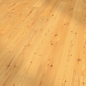 Parquet Larch, Standard, bevelled (4V), scraped, oiled finish