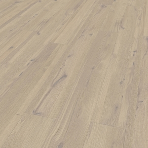 Parquet oak Multi face white, bevelled (4V), structured, oiled finish