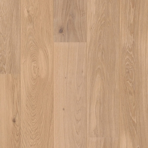 Parquet Dune White oak, large groove, 1-strip, oiled