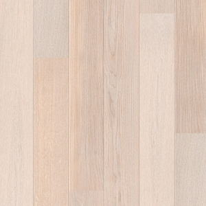 Parquet Polar oak satin, large groove, 1-strip, lacquered