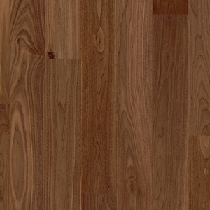 Parquet Noble walnut satin, large groove, 1-strip, lacquered