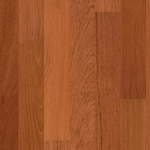 Parquet Jatoba Satin, large groove, 1-strip, lacquered