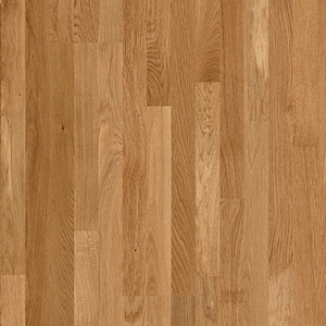 Parquet Natural noble oak matt, no groove, 3-strip, lacquerd