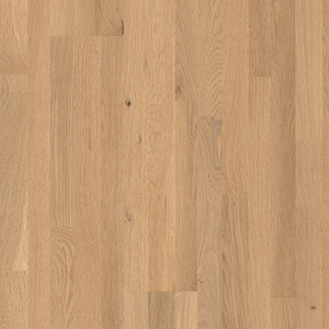 Parquet Pure Oak Matt, no groove, 3-strip, lacquered