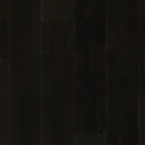 Parquet Wengé oak silk, no groove, 3-strip, lacquered