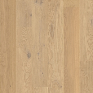 Parquet Quick-Step Oak cotton white matt, large groove, 1-strip, lacquered