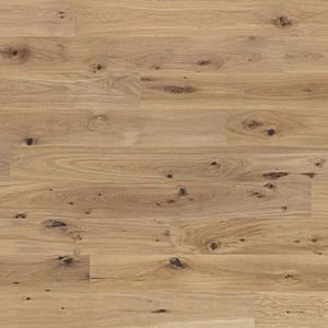 Parquet Tarkett, Heritage, Oak Blonde 14mm, brushed, 2 sides beveled, 1-strip, Proteco Hardwax
