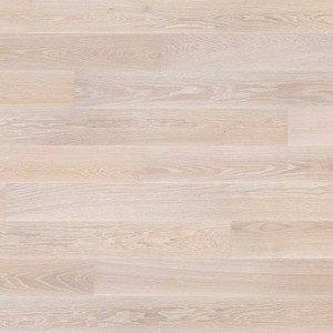Parquet Tarkett, Prestige, Oak White Sand, brushed, 4 sides beveled, 1-strip, Proteco Hardwax Oil