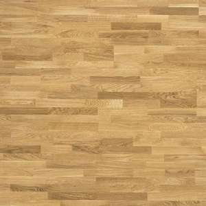Parquet Tarkett, Pure, Oak Nature TreS, 3-strip, brushed, Proteco Natura mat lacquer