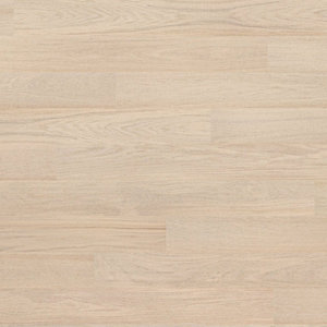 Parquet Tarkett, Shade, Oak Cotton White Plank XT, 1-strip, 2 sides bevelled, stained, Proteco Natura mat lacquer