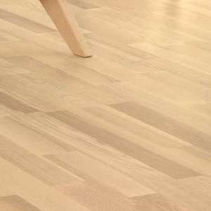 Parquet Tarkett, Shade, Ash Melange TreS, 3-strip, stained, Proteco Natura mat lacquer