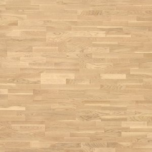 Parquet Tarkett, Shade, Oak Cream White TreS, 3-strip, stained, Proteco Natura mat lacquer