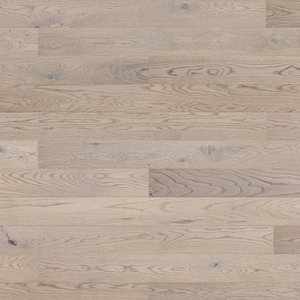 Parquet Tarkett, Shade, Oak Misty Grey Plank, 1-strip, 2 sides bevelled, brushed, stained, Proteco Natura mat lacquer
