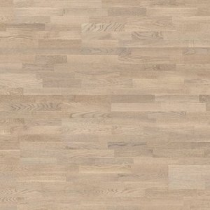 Parquet Tarkett, Shade, Oak Misty Grey TreS, 3-strip, stained, Proteco Natura mat lacquer