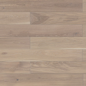 Parquet Oak, Piccolo Coconut, 1-strip, beveled, brushed, stained, natural oil