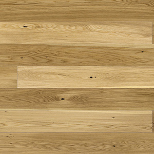 Parquet Oak, Grande Caramel, 1-strip, beveled, brushed, matt lacquer