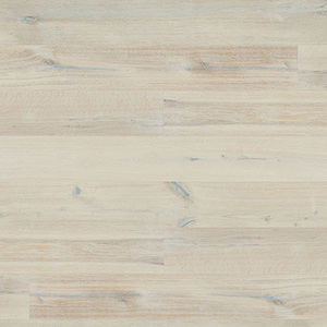 Parquet Oak, Grande Alabaster, 1-strip, beveled, brushed, stained, matt lacquer