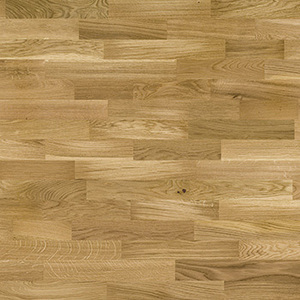 Parquet Oak, Molti Azure Window, 3-strip, matt lacquer