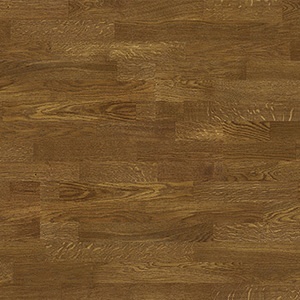 Parquet Oak, Molti Honey, 3-strip, brushed, stained, matt lacquer