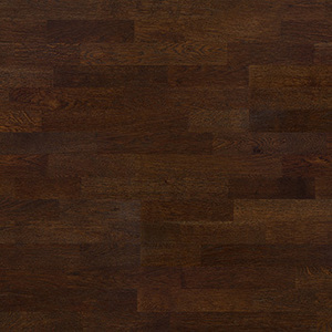 Parquet Oak, Molti Marsala, 3-strip, brushed, stained, matt lacquer
