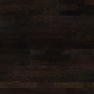Parquet Oak, Molti Affogato, 3-strip, brushed, stained, matt lacquer
