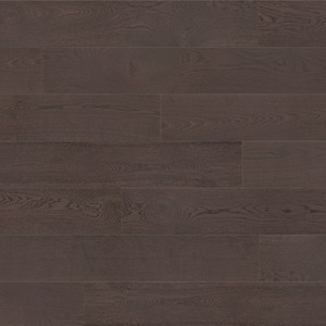 Parquet Oak, Grande Affogato, 1-strip, beveled, brushed, stained, matt lacquer