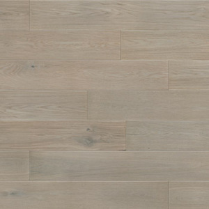 Parquet Oak, Grande Marzipan Muffin, 1-strip, beveled, brushed, stained, matt lacquer