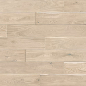 Parquet Oak, Grande Biscuits, 1-strip, beveled, brushed, stained, natural oil