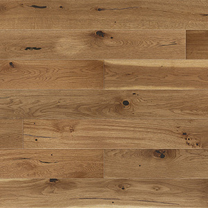 Parquet Oak, Grande Toffee, 1-strip, beveled, brushed, stained, natural oil