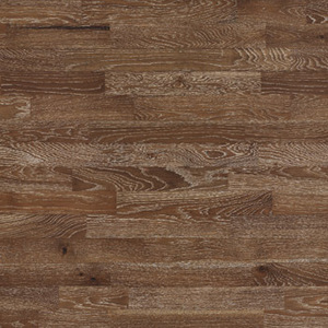 Parquet Oak, Molti Panforte, 3-strip, brushed, stained, matt lacquer