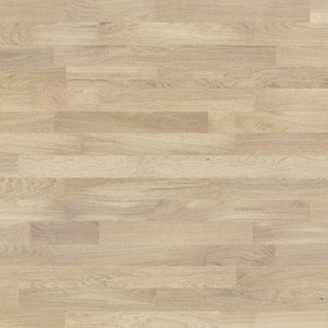 Parquet Oak, Molti Cheesecake, 3-strip, brushed, stained, matt lacquer