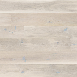 Parquet Oak, Senses Gentle, 1-strip, beveled, brushed, stained, matt lacquer