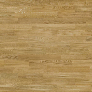 Parquet Oak, Molti Amazon, 3-strip, lacquer